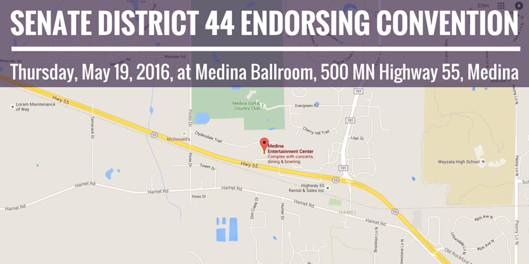 SD 44 Senate Endorsing Convention