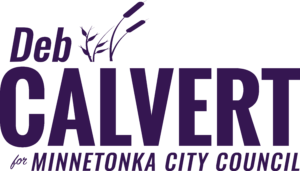 Deb Calvert for Minnetonka City Council Logo Purple