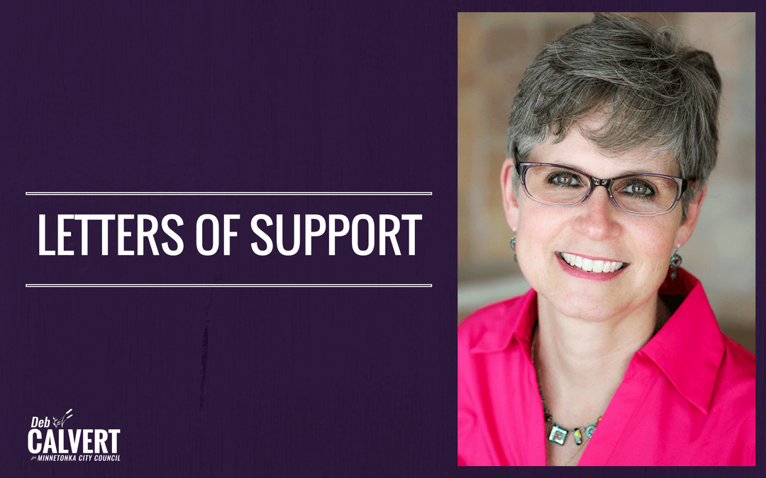 Letter of Support: Karen Anderson